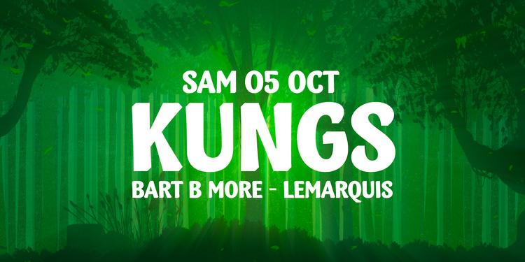 La Clairière Closing Party : KUNGS