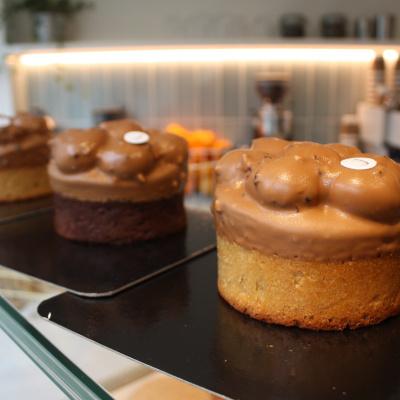 La Goutte d'Or, pâtisserie de haute volée et coffee shop charmant de Yann Menguy