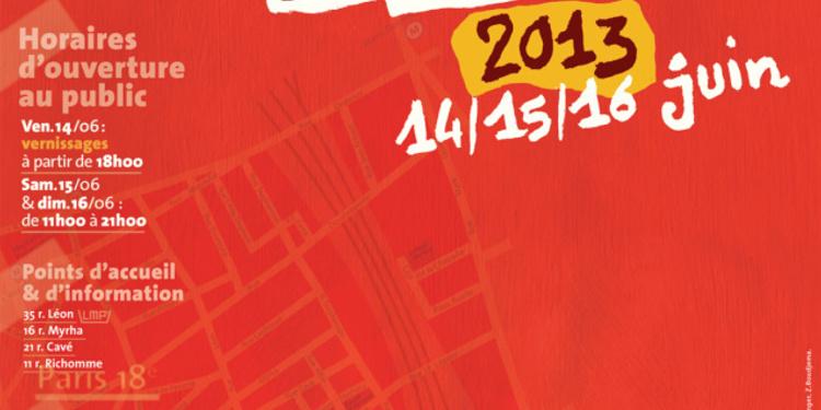 Journées Portes ouvertes des ateliers d'artistes du quartier de la goutte d'Or