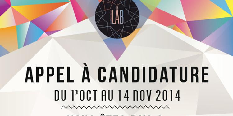 Le Lab Festival, 2ème édition - Appel à Candidature