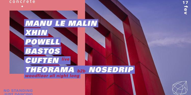 Concrete: Manu Le Malin • Xhin • Powell • Bastos • Cuften