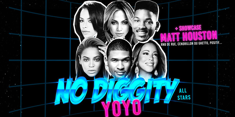 No Diggity All Star au Yoyo avec Matt Houston Live