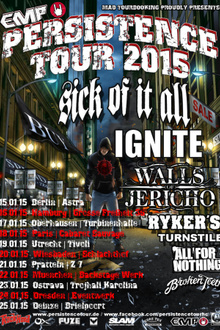 Persistence tour 2015
