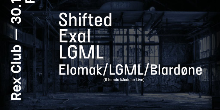Polarite: Shifted, Exal, LGML, Elomak, Blardone
