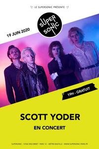 Scott Yoder en concert au Supersonic (Free entrance) - Le Supersonic - vendredi 19 juin