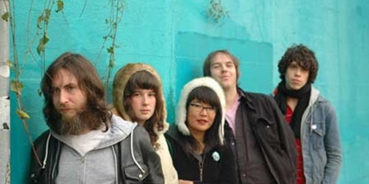 Pink mountaintops + girl band + Meltones + Peter Matthew Bauer