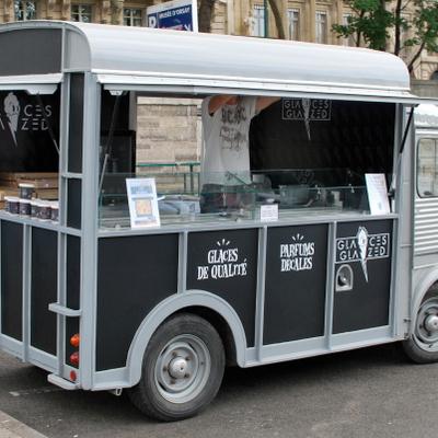 Glaces Glazed : le premier food truck parisien dédié aux glaces !