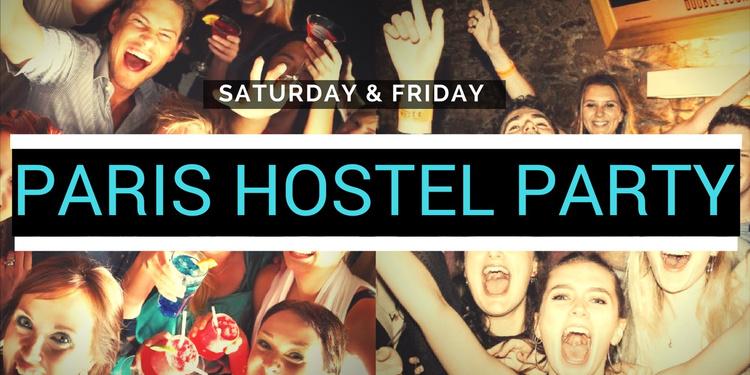 PARIS HOSTEL PARTY