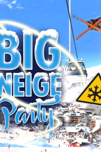 big neige party - soirée neige - California Avenue - samedi 27 mars 2021