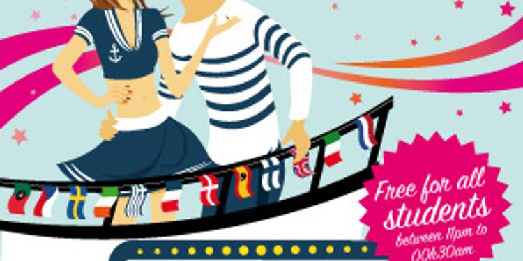International Erasmus Summer Boat Party
