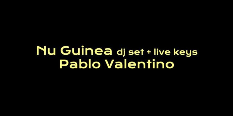 Badaboum: Nu Guinea Extended set, Pablo Valentino