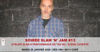 Soirée Slam 'n' Jam #13