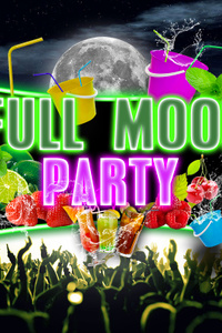 full moon bucket party - California Avenue - vendredi 12 février 2021