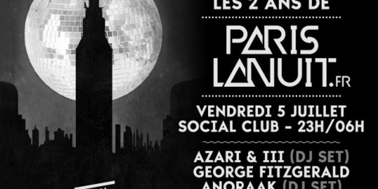 Paris La Nuit Fête Ses 2 Ans