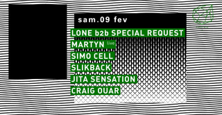 Concrete: Lone b2b Special Request, Martyn Live, Simo Cell