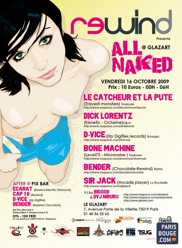 de octubre 2009 All Naked de Glazart 16 dBorxCe