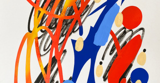 """Exposition """"Traits"""" de GREMS - ADDA GALLERY"""