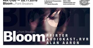 BLOOM #19 : Pfirter, AudioKAst & RVR, Alan Aaron