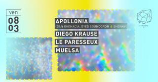 Concrete: Apollonia, Diego Krause, Le Paresseux, Muelsa