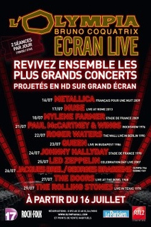 Led Zeppelin - Olympia Ecran Live