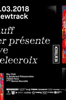 Rexist 3 x Newtrack: Helena Hauff, The Hacker presente Amato Live, Thomas Delecroix