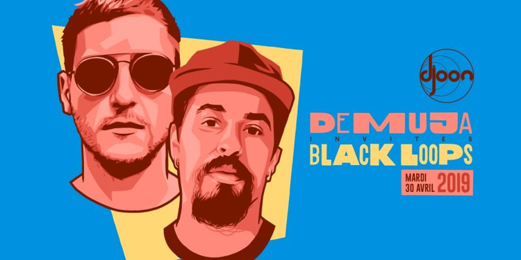 Demuja Invite Black Loops