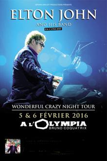 Elton John en concerts à Paris