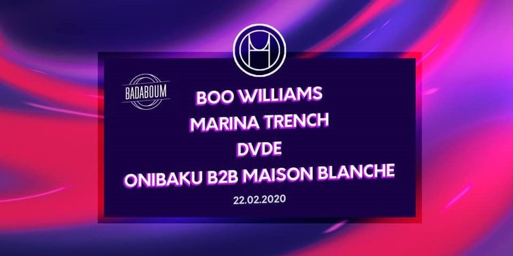 H.O.U First Release Party with Boo Williams & Marina Trench