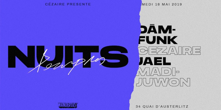 Cézaire présente Nuits Pourpres x Dam Funk x Jael x Madijuwon