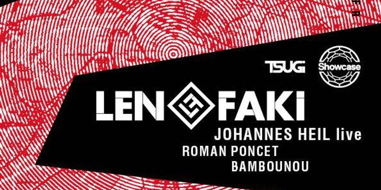 Figure Label Night W Len Faki, Johannes Heil live, Roman Poncet, Bambounou