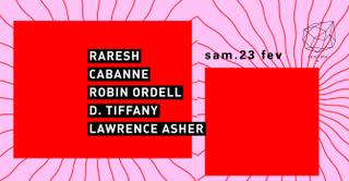 Concrete: Raresh, Robin Ordell + Dj TBA