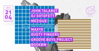Concrete: John Talabot, Dj Sotofett, Mézigue, Maxye