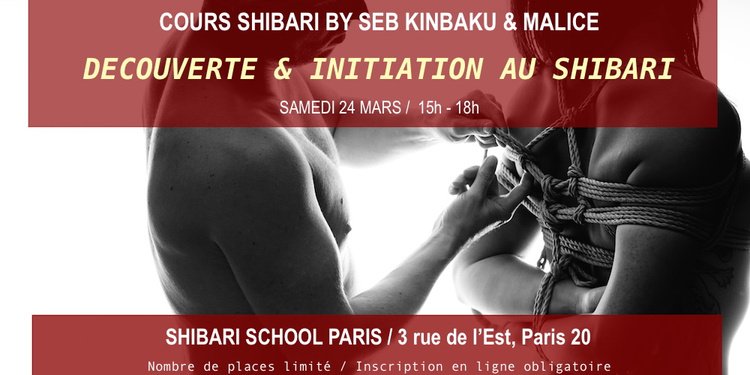 Apprendre le shibari avec Seb Kinbaku & Malice