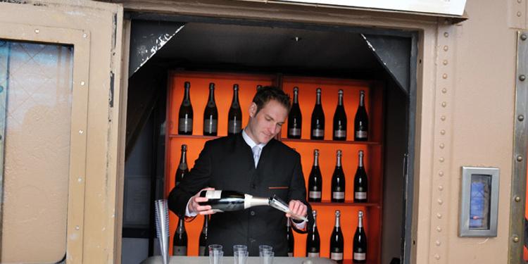 Le Bar à champagne de la Tour Eiffel