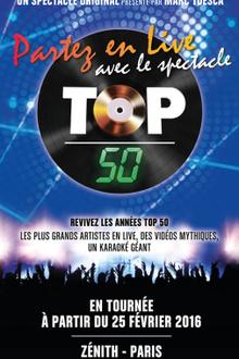Top 50 - Partez en live