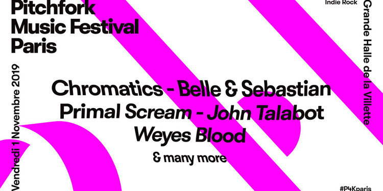 Pitchfork Music Festival Paris : Chromatics x Belle & Sebastian x Primal Scream