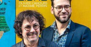 Maxime Perrin et Olivier Cahours (Sortie d'album)