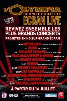 Muse - Olympia Ecran Live