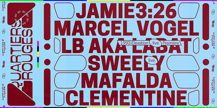 Quartiers Rouges .07 : Jamie 3:26, Marcel Vogel, Sweely, Mafalda