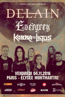DELAIN + EVERGREY + KOBRA & THE LOTUS