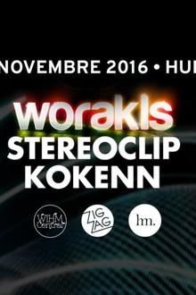 Zig Zag x Hungry Party : Worakls, Stereoclip & Kokenn