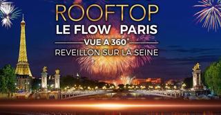 ROOFTOP BOAT VUE TOUR EIFFEL & FEU D' ARTIFICE ARC NEW YEAR 2022 NOUVEL AN D' EXCEPTION SUR LA SEINE