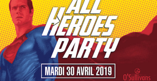 ALL HEROES PARTY by OSFDR