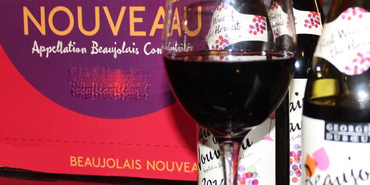 Happy hour non stop & Beaujolais nouveau