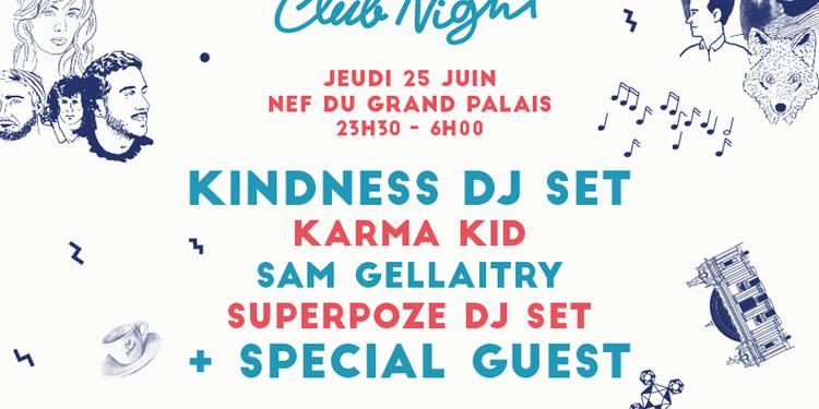 CINEMA PARADISO/SUPERCLUB - KITSUNÉ CLUB NIGHT
