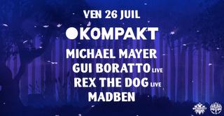 La Clairière x Kompakt : Michael Mayer, Gui Boratto (live)