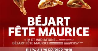 Béjart Ballet Lausanne au Palais des Congrès pour Béjart fête Maurice