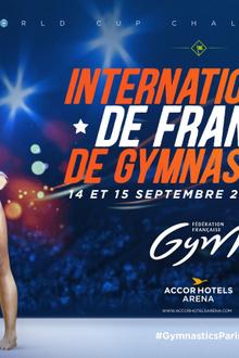 INTERNATIONAUX DE FRANCE DE GYMNASTIQUE 2019