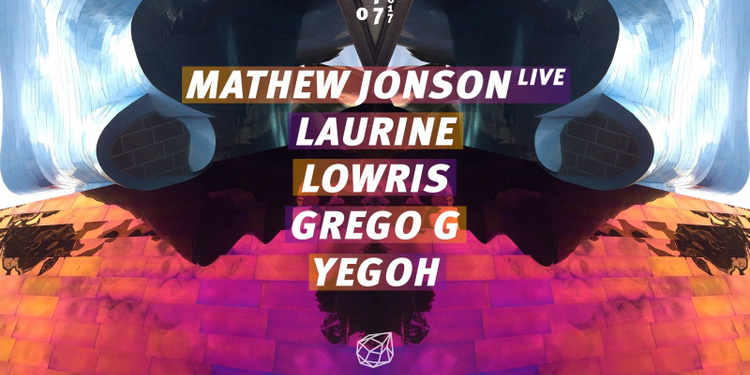 Concrete : Mathew Jonson live / Laurine / Lowris / Grego G/ Yegoh