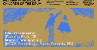 Children Of The Drum: Gerd Janson, Pablo Valentino
